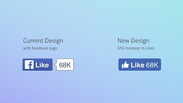 Facebook : Les boutons Facebook changent de look !