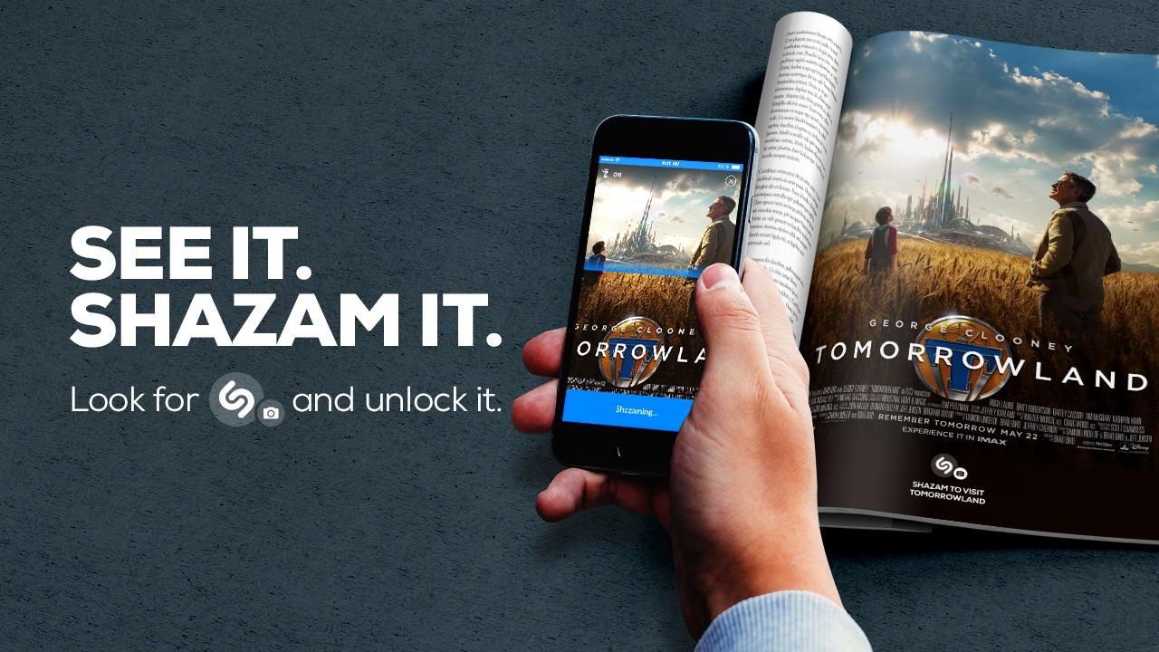 L'application Shazam peut désormais reconnaître des images !