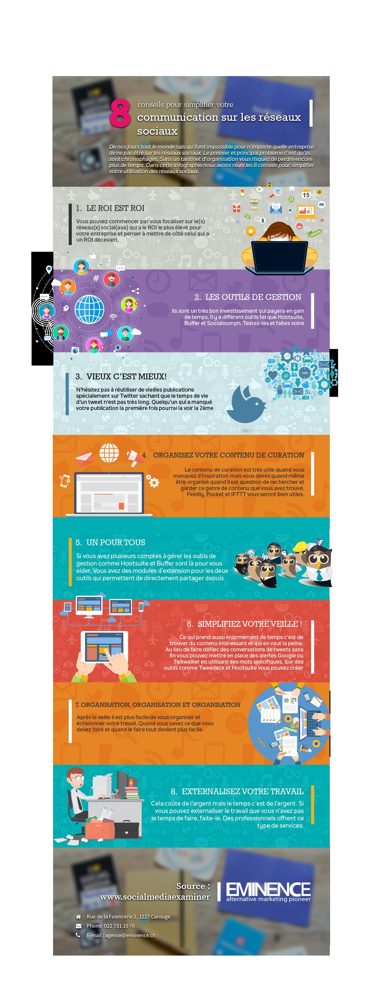 8 conseils pour simplifier votre communication sur les réseaux sociaux