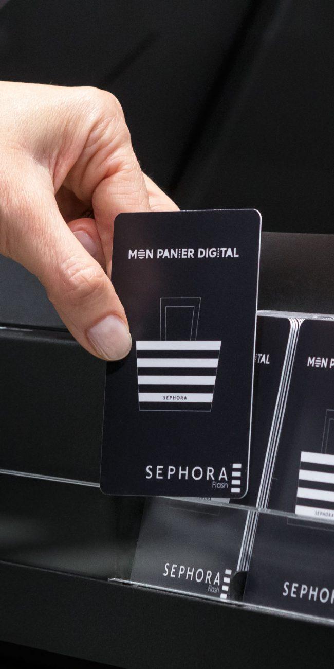 La digitalisation des points de vente Sephora !