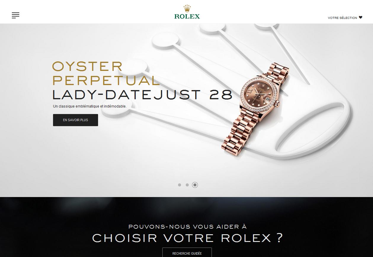 Etude de cas : Rolex