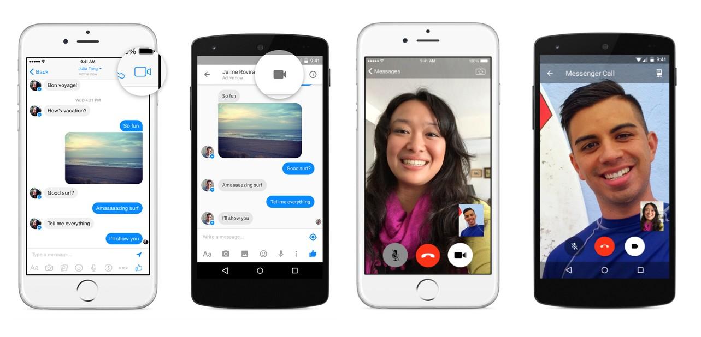 Facebook Messenger - Appels vidéo