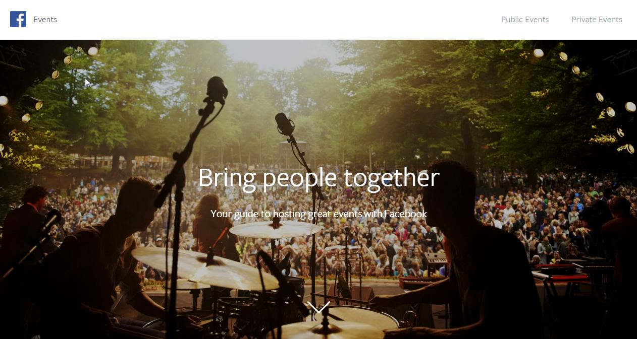Facebook crée un guide pour gérer les événements privés et publics