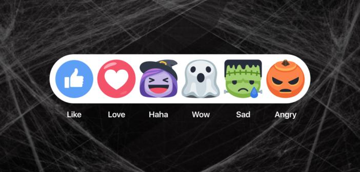 Facebook se déguise pour Halloween