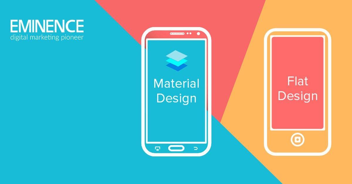 Tendances design: Flat design et Material design