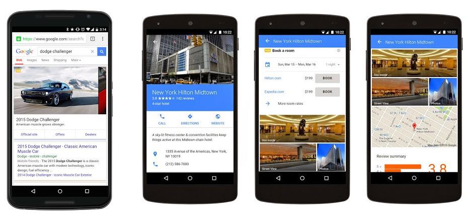 Google Adwords  de nouveaux formats publicitaires pour Mobile