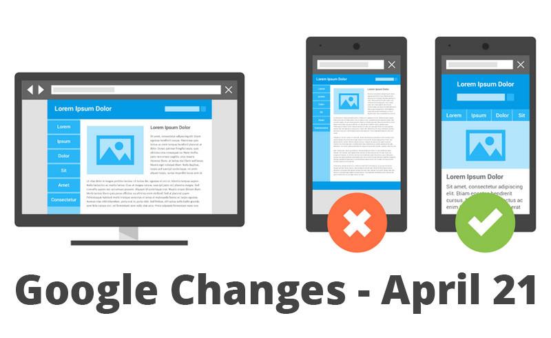 Google change son algorithme - Mobile Friendly