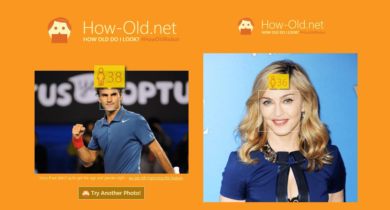 How-Old Microsoft
