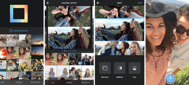 Instagram - Layout disponible sur Android