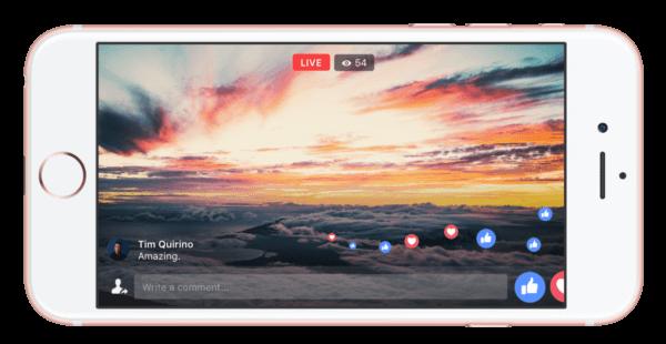 Jusqu'à 4 heures de vidéo avec Facebook Live