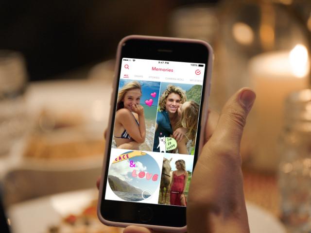 Revivez vos meilleurs moments avec Snapchat Memories