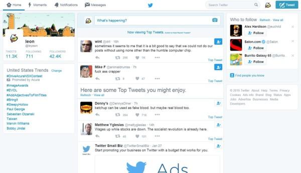 Twitter Mise en avant des meilleurs Tweets