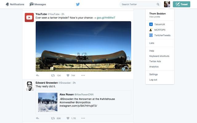Twitter : Un outil pour passer d'un compte à un autre