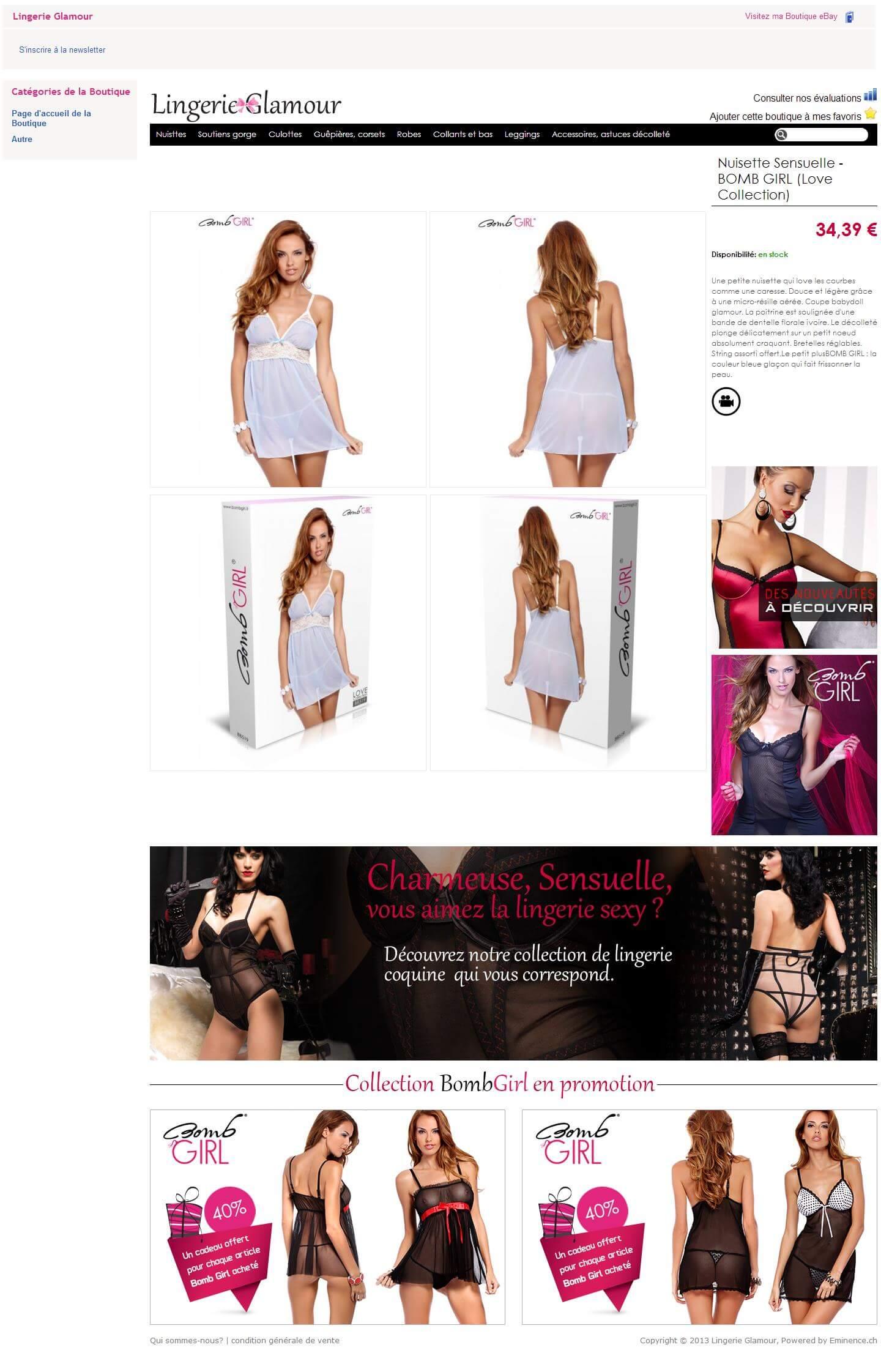 ebay lingerie glamour 2