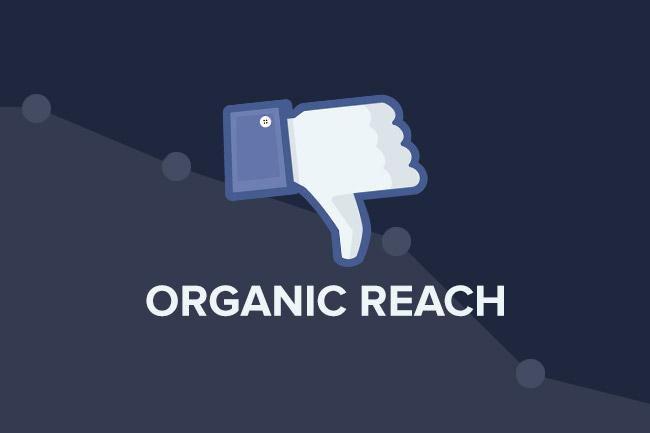 Facebook : Des mises à jour au détriment du Reach des pages Facebook