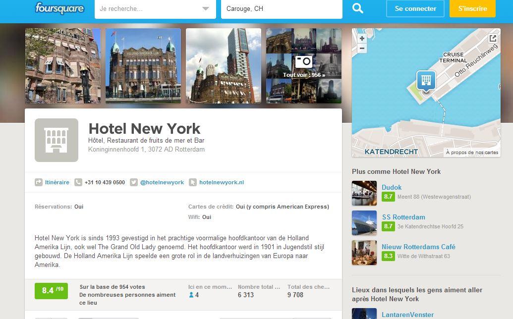 foursquare hotel