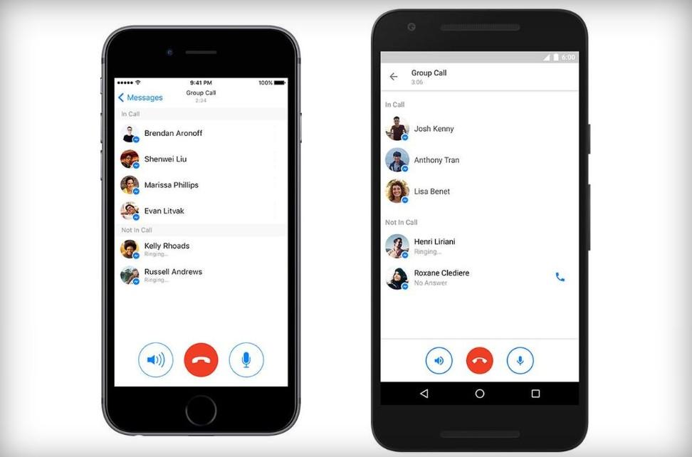 Facebook : La nouvelle fonctionnalité d'appels de groupe !