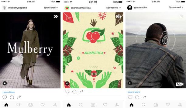 Instagram lance un nouveau format publicitaire