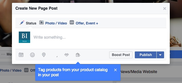 la fonctionnalité d identification de produits de facebook