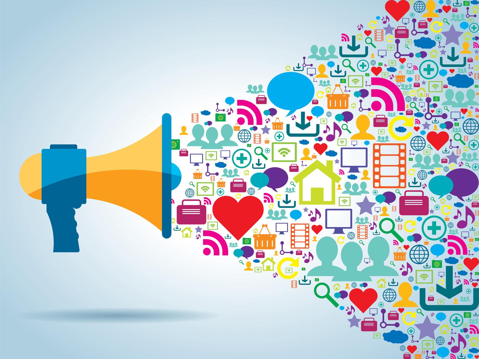 communication réseaux sociaux