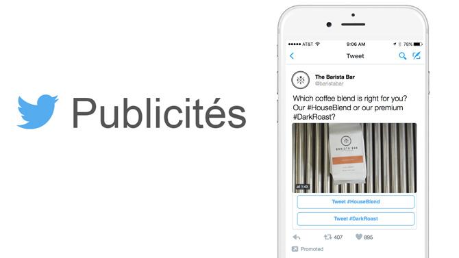 Twitter lance un nouveau format publicitaire : les Conversational Ads