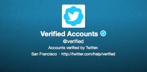 Twitter : Pour avoir un compte certifié !