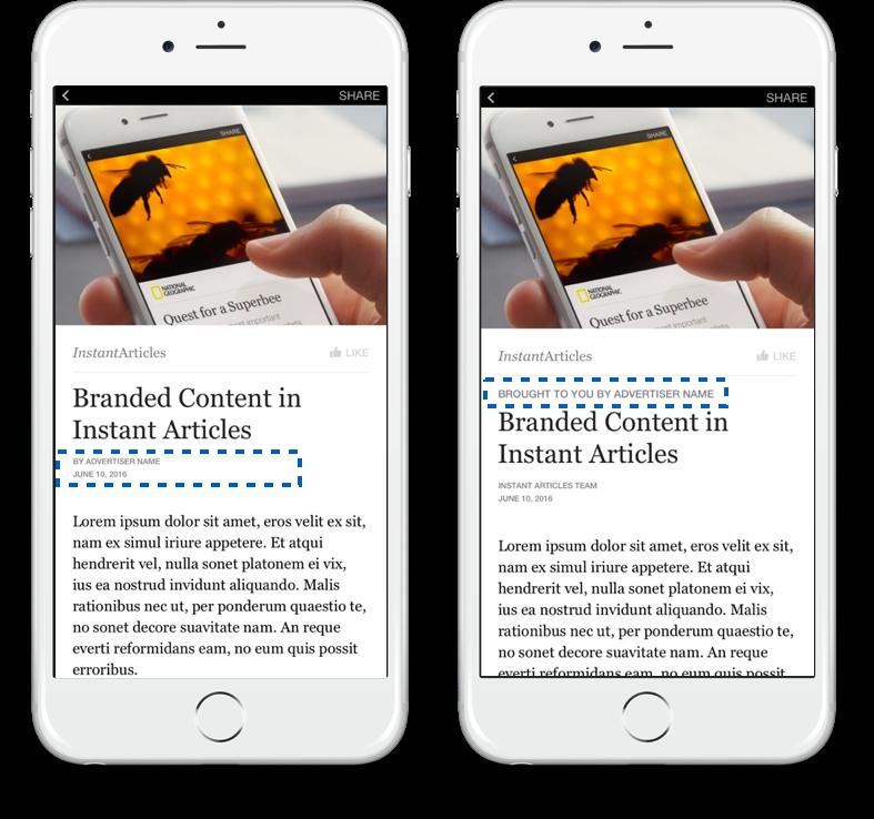 Découvrez les dernières nouveautés de Facebook Instant Articles !