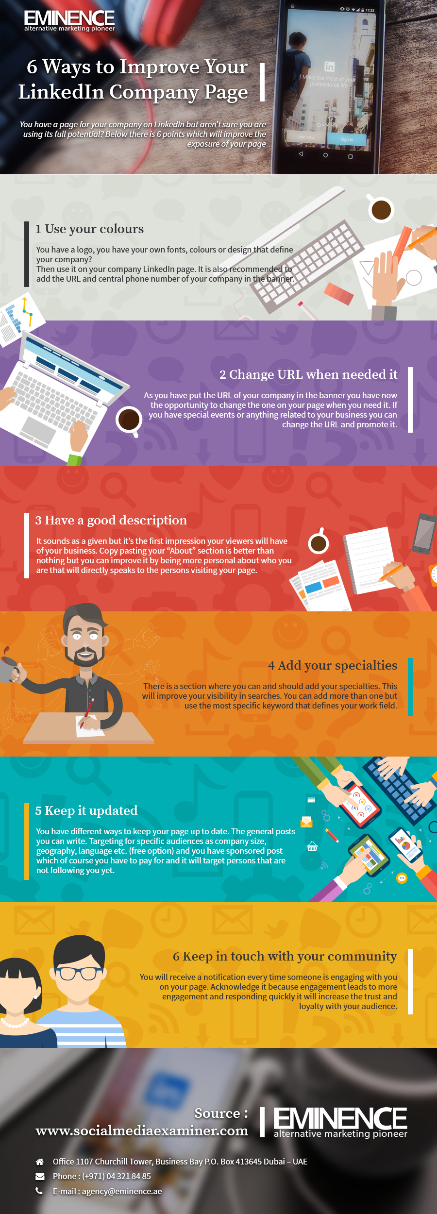 6 Ways to Improve Your LinkedIn Company Page