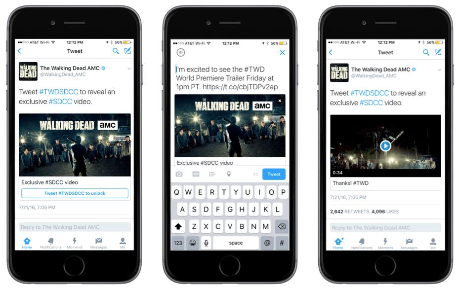 Twitter : Lancement d'un nouveau format de publicité