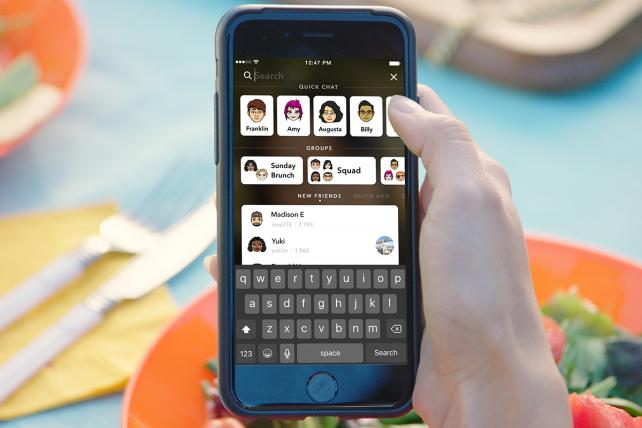 Good news for businesses Snapchat allows your brand to be easily found