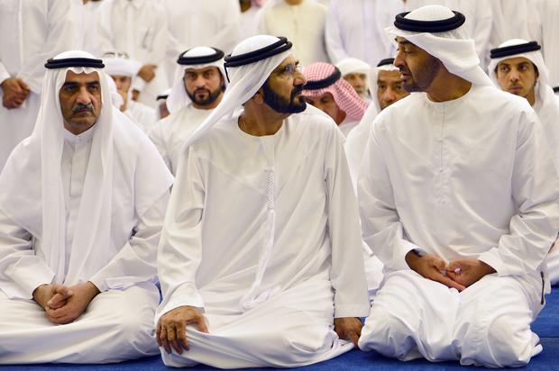 UAE-DUBAI-POLITICS-FUNERAL