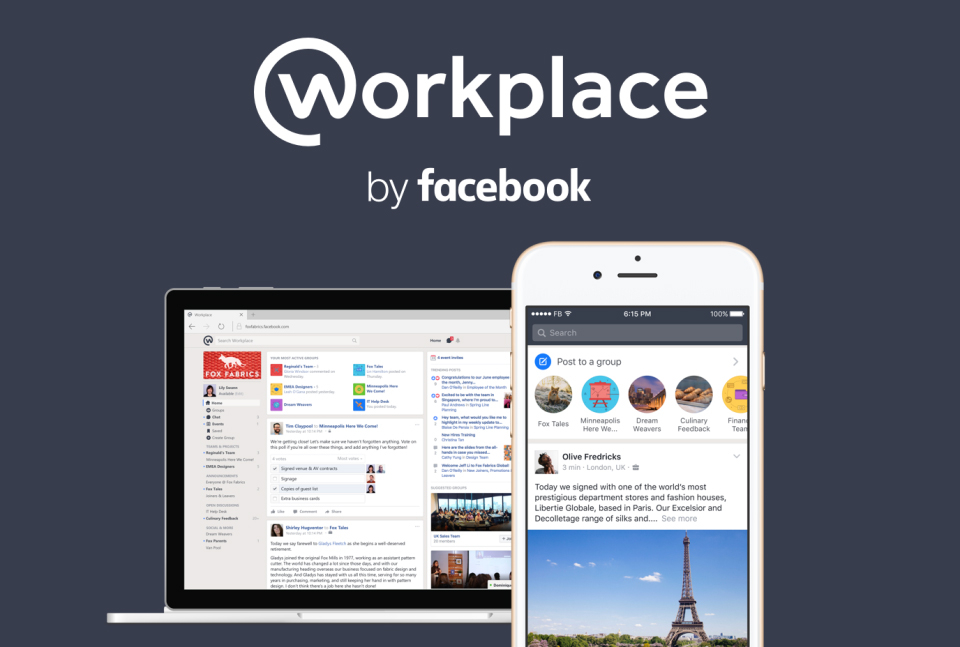 Workplace by Facebook pour tous