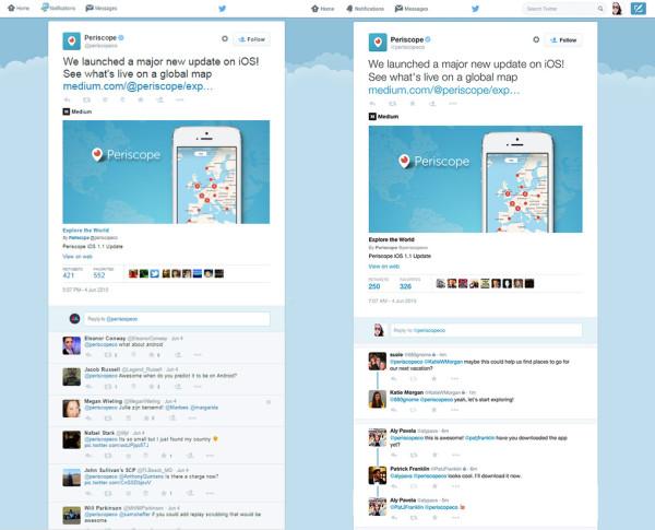 Twitter améliore la visibilité et clarifie les conversations !