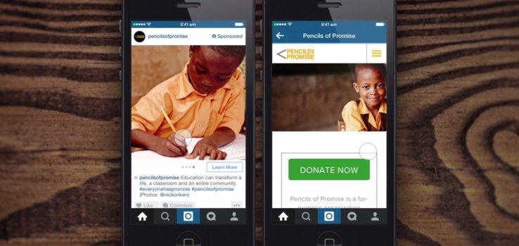 Instagram lance ses premières publicités cliquables !
