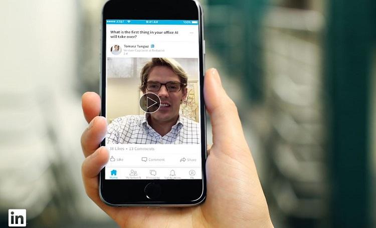 LinkedIn se lance enfin dans la vidéo