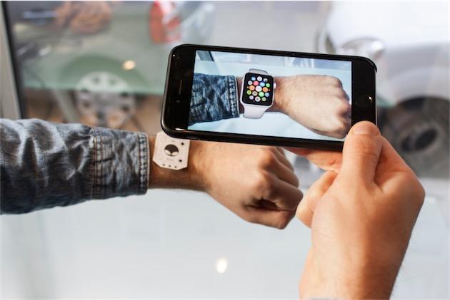 Apple Watch réalité augmentée