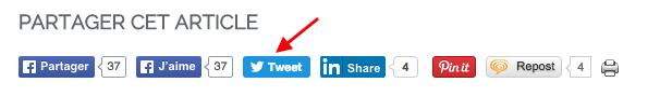 Twitter et la fin du compteur partage